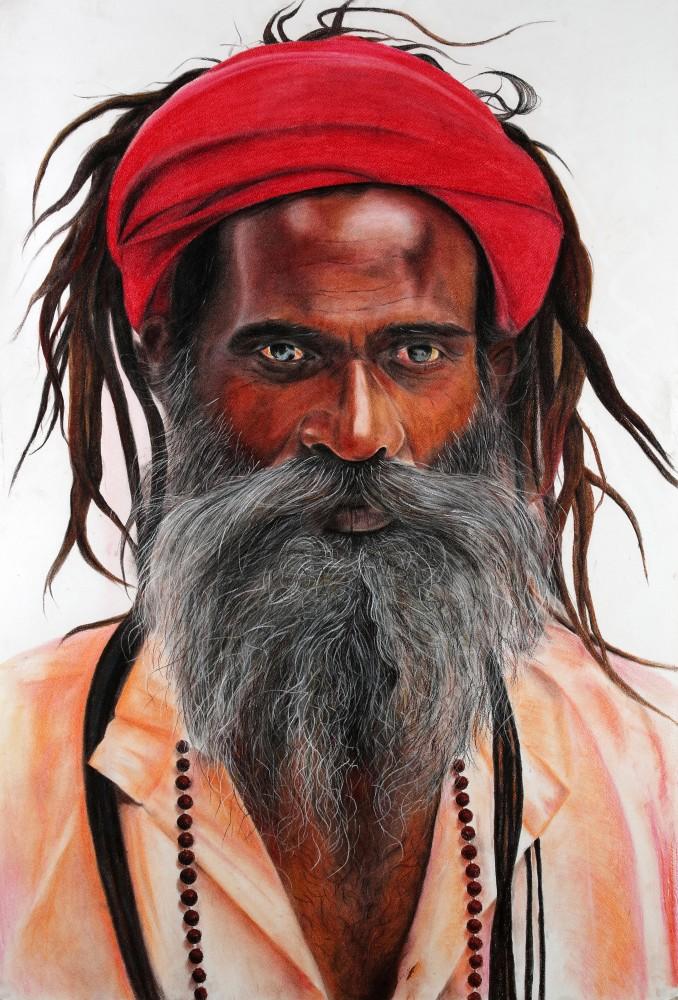 Laal Pagri Baba (Red Turban Baba)