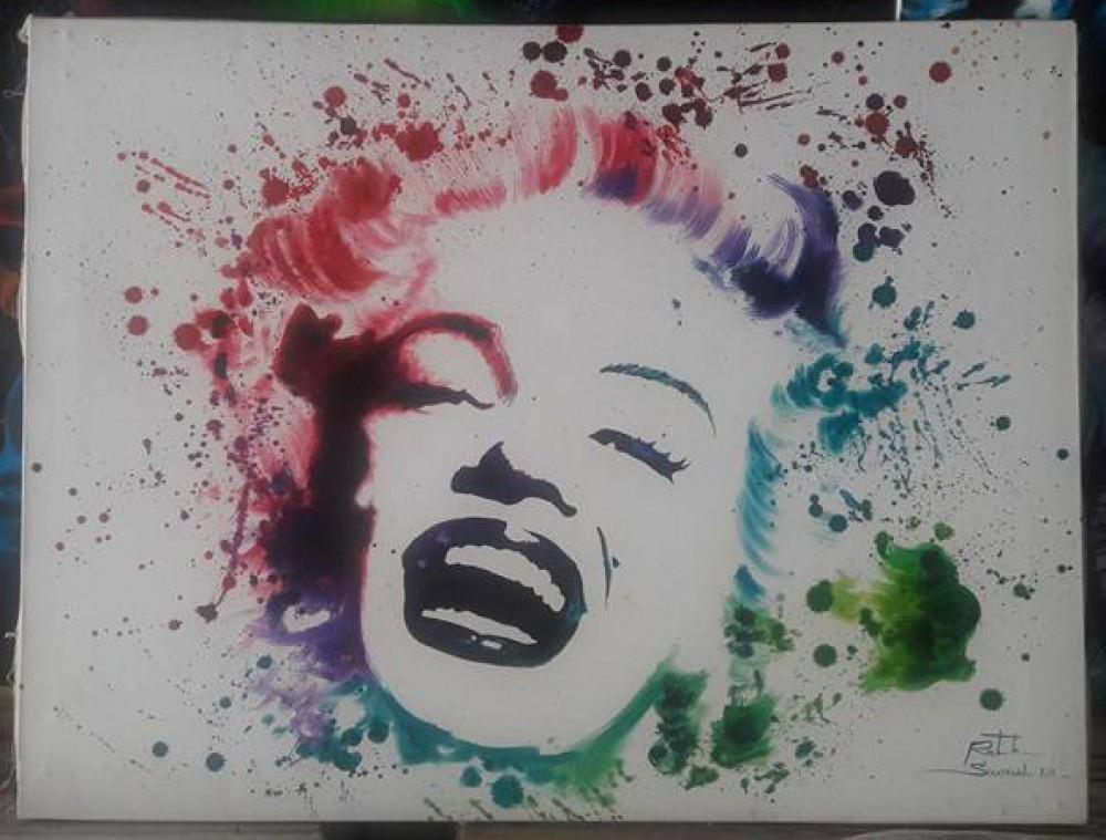 Rainbow Marilyn (Splash Version)