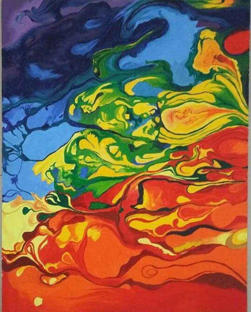 Painting: Amalgamation of colours and emotions - Artnation