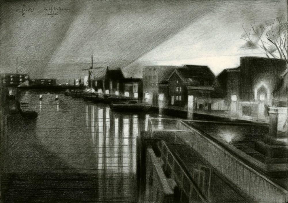 Rotterdam - Delftshaven - 08-03-16 (sold)