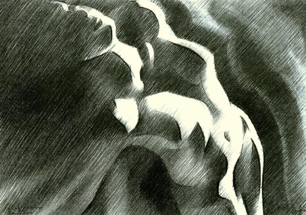 Round cubism  - 14-08-14 (sold)