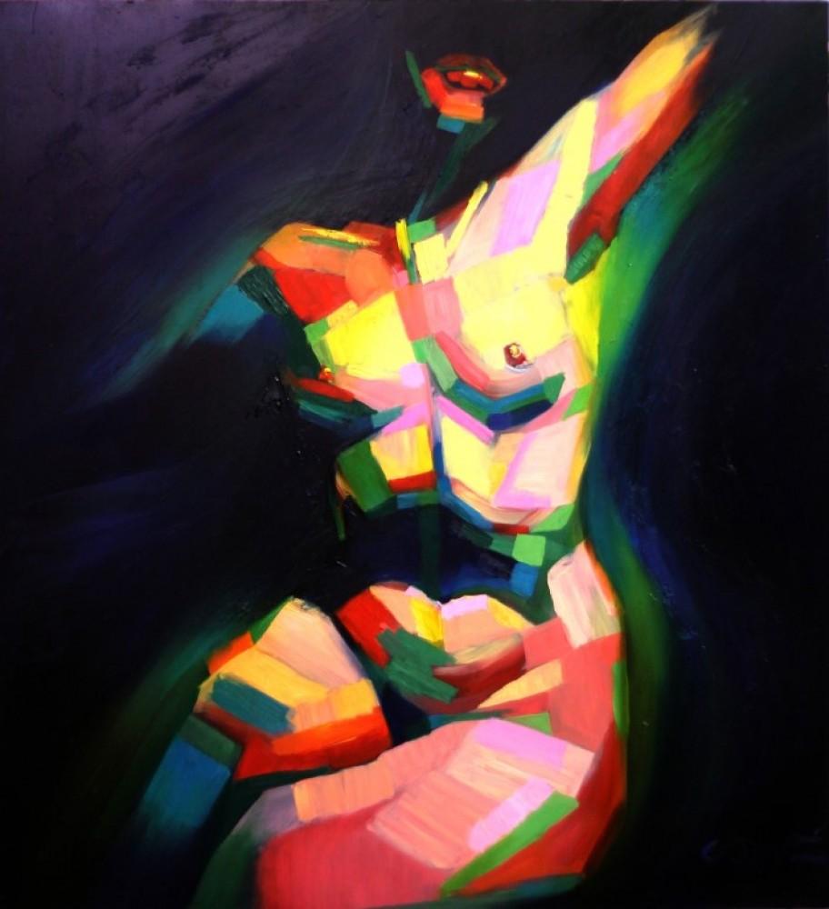 Cubistic nude (2014)